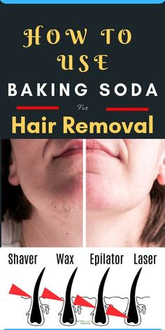 , How To Use Baking Soda For Hair Removal - Natural Home Remedies , How To Use Baking Soda For Hair Removal. Facial hair removal is not an easy job for some of us. However wax and other pull on methods are effective in. Chin Hair Removal, Hair Removal Diy, Hair Removal Methods, Hair Removal Cream, Natural Facial Hair Removal, Removing Facial Hair Women, Permanent Hair Removal, Remove Unwanted Facial Hair, At Home Hair Removal
