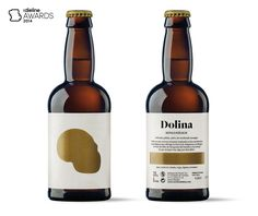 The Dieline Awards 2014: Beer & Malt Beverages, 1st Place – Dolina — The Dieline | Packaging & Branding Design & Innovation News