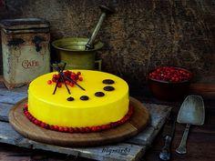 Современный медовик с брусникой: bigmir81 — ЖЖ Mouse Cake, Girl Cakes, Mousse, Food And Drink, Birthday Cake, Sweet, Easy, Desserts, Recipes