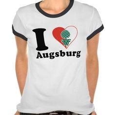 ♥♥♥ I love Augsburg tshirt ♥♥♥  #Augsburg #Schwaben #iloveAugsburg #love #Augschburg
