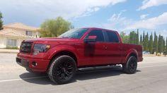 2013 F-150 2WD - BEFORE - BDS #023642 6inch Lift Kit Install by LiftKits4Less.com Las Vegas
