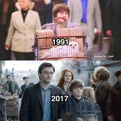 "5,285 Likes, 120 Comments - Harry Potter ⚯͛ (@harrypotter_jusst) on Instagram: ""Which year ?"""
