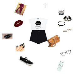 """,,,"" by viltbruxinha ❤ liked on Polyvore featuring Mode, Vans, Domo Beads, Metal Couture, Free People, Kate Spade, Patricia Nash, Lime Crime, ASOS und Prism"
