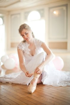 Bridal Ballet Shoot
