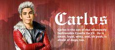 Descendants - Movie Homepage - Character Slider - Carlos