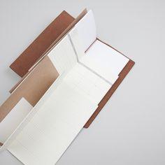 traveler notebook with refills.