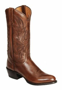 Lucchese Men's Handcrafted Lonestar Calf Cowboy Boot Round Toe Brown 10 D(M) US - http://authenticboots.com/lucchese-mens-handcrafted-lonestar-calf-cowboy-boot-round-toe-brown-10-dm-us/