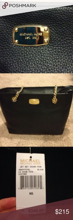 Michelle kors bag BNWT Black Michelle kors bag got as a gift still might keep it just have so many but I do love it so it was$348 open to fair offers Thanks Michael Kors Bags Shoulder Bags