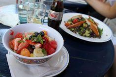 Lunch på Cafe Gitane i West village, maj 12.
