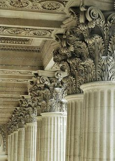 ♔ Louvre Colonnade (1668) ~ Paris ~ France
