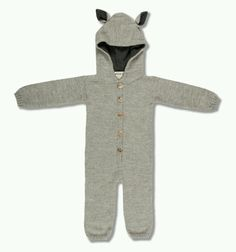 Waddler Grey Wolf Suit