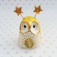 dragonstarart:Farewell yellow fairy owl. You finally found a...