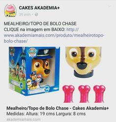 MEALHEIRO/TOPO DE BOLO CHASE CLIQUE na imagem em BAIXO: http://www.akademiamais.com/produto/mealheirotopo-bolo-chase/