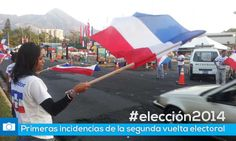 Pirmeras incidencias del proceso electoral #eleccion2014
