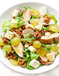 Brie, Cobb Salad, Salads, Food, Diet, Kitchens, Essen, Meals, Yemek
