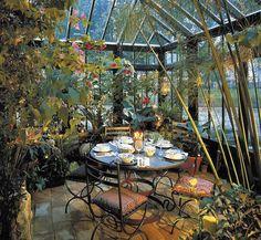 Autumn dinner in the Garden Room - http://garden-greenhouse.se/