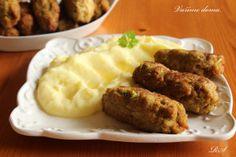 Kapustové čevapčiči z krůtího mletého masa
