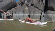 Stand Up Paddle Fitness with Melanie Webb and Holiday River Expeditions