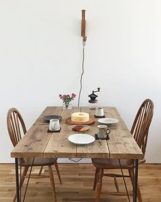 Decoration, Dining Table, House Design, Rustic, Interior Design, Kitchen, Tables, Villa, Furniture