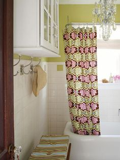 30 Ways to Store More in Your Bath Like the hooks in a small space.