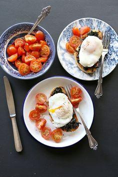 15 συνταγές με σπανάκι που θα λατρέψεις - www.olivemagazine.gr Panna Cotta, Eggs, Breakfast, Ethnic Recipes, Food, Morning Coffee, Dulce De Leche, Essen, Egg