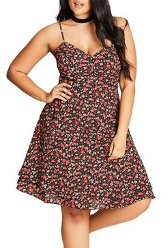 So cute. But I buy things like this and never wear them & then just give them away. I'm a maxi dress girl at heart. Fit & Flare Dress