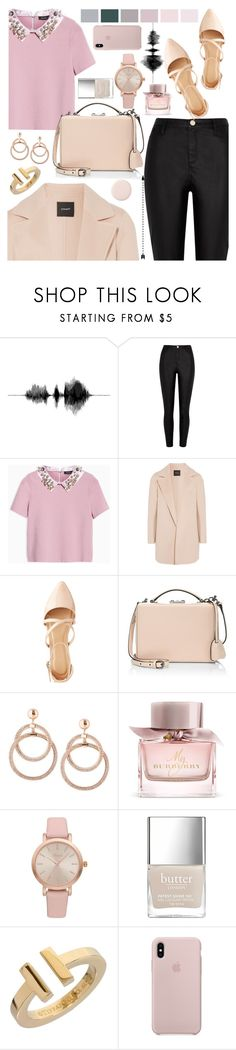 """24.10.17"" by bad-bunny15 ❤ liked on Polyvore featuring River Island, Max&Co., Theory, Charlotte Russe, Mark Cross, Burberry, Vivani and Tiffany & Co."