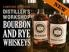 New Deal Bourbon and Rye Whiskey
