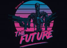 Vaporwave, Day Of The Shirt, Rock Poster, Welcome To The Future, Horror Artwork, 80s Aesthetic, Retro Waves, Arte Pop, Film Serie