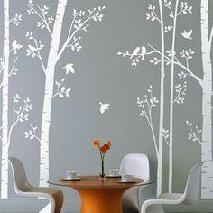 Adesivi come veri alberi   Donna Moderna