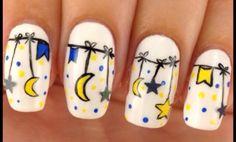 Pretty moons nails