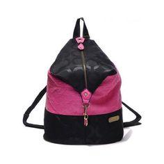 Black/Pink Backpack