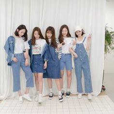 Korean Fashion – How to Dress up Korean Style – Designer Fashion Tips Korea Fashion, Kpop Fashion, Asian Fashion, Daily Fashion, Teen Fashion, Womens Fashion, Girl Outfits, Casual Outfits, Cute Outfits