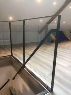 Balustrade Balcon, Balustrades, Banisters, Railings, Loft Staircase, Stairs, Stair Railing Design, Modern Kitchen Interiors, House Inside