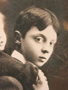 Buster Keaton, child model