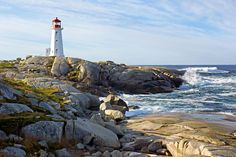 Peggy's Cove, Nova Scotia, Canada jigsaw puzzle in Puzzle of the Day puzzles on TheJigsawPuzzles.com