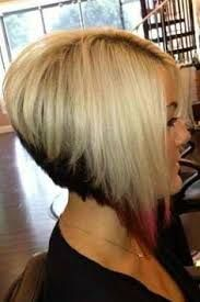 Image result for drastic angled bob