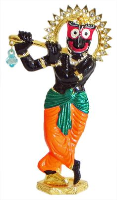 Lord Jagannath as Krishna (Metal)