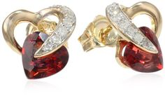 10k Yellow Gold, Garnet, and Diamond Heart Earrings (.08 cttw, I-J Color, I2-I3 Clarity) Amazon Curated Collection,http://www.amazon.com/dp/B000TQZIJS/ref=cm_sw_r_pi_dp_1Bi.sb04S2W38GHB
