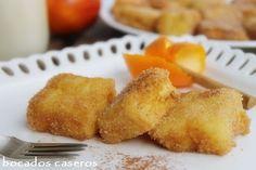 Bocados Caseros: LECHE FRITA, receta clásica de semana santa