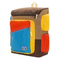 Mokuyobi - Brown Bear Top Open Mega Backpack