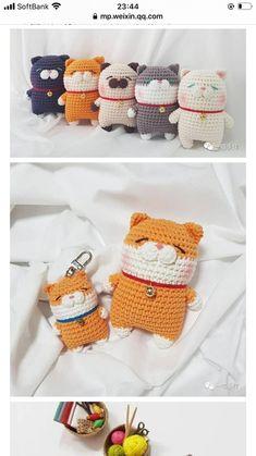 Quick Crochet Patterns, Crochet Animal Patterns, Crochet Designs, Crochet Animal Amigurumi, Amigurumi Patterns, Crochet Dolls, Scrap Crochet, Crochet Fish, Kawaii Crochet