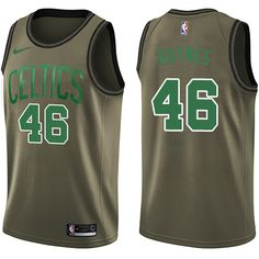 734e655f0 Nike Celtics  46 Aron Baynes Green Salute to Service NBA Swingman Jersey  John Havlicek