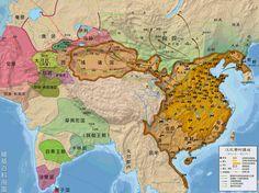 西漢時期全圖