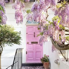 Lovely Lavender - 16 Times A Painted Door Changed Everything - Photos