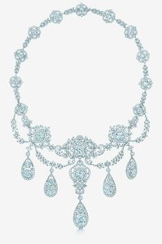 Wade family necklace, created for the wife of the heiress to the western union fortune