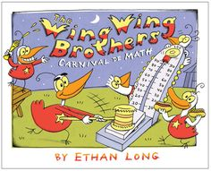 While at the carnival, the Wing Wing brothers learn about counting, adding, and subtracting by tens. Teaching Math, Teaching Ideas, Wing Wing, 100 Day Celebration, Number Sequence, Go Math, Number Sense, Addition And Subtraction, Counting