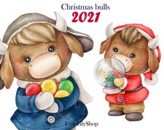 Watercolor Clipart, Watercolor Images, Watercolor Pencils, Hand Images, Us Images, New Year Clipart, Christmas Clipart, Christmas Pictures, Animal Drawings
