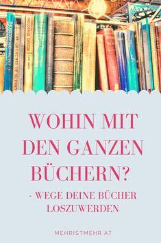 Wohin mit den ganzen Büchern? Art Supplies, Blog, Cover, Design, Psychology Programs, Make A Donation, Minimalism, Tips And Tricks, Household