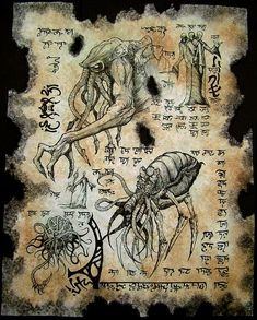 SARNATH TEXT Cthulhu larp Necronomicon Scrolls dark occult witchcraft magick www.stella-stroy-dv.ru